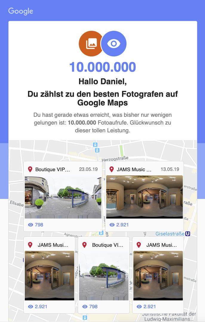 Google Maps Fotograf Daniel Schvarcz Photographie München